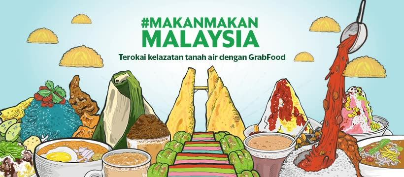 GrabFood: Makan-Makan Malaysia To Save 31% Off Your Local Favourites