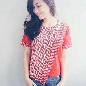 Model Blus Batik Modern Terbaru