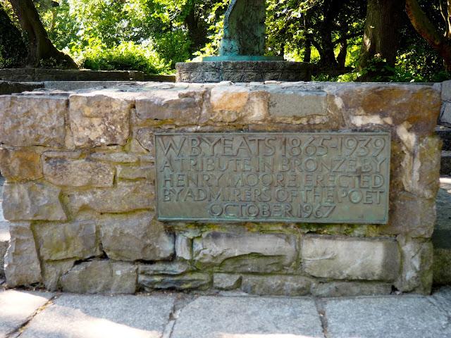 Yeats memorial, St Stephen's Green, Dublin, Ireland