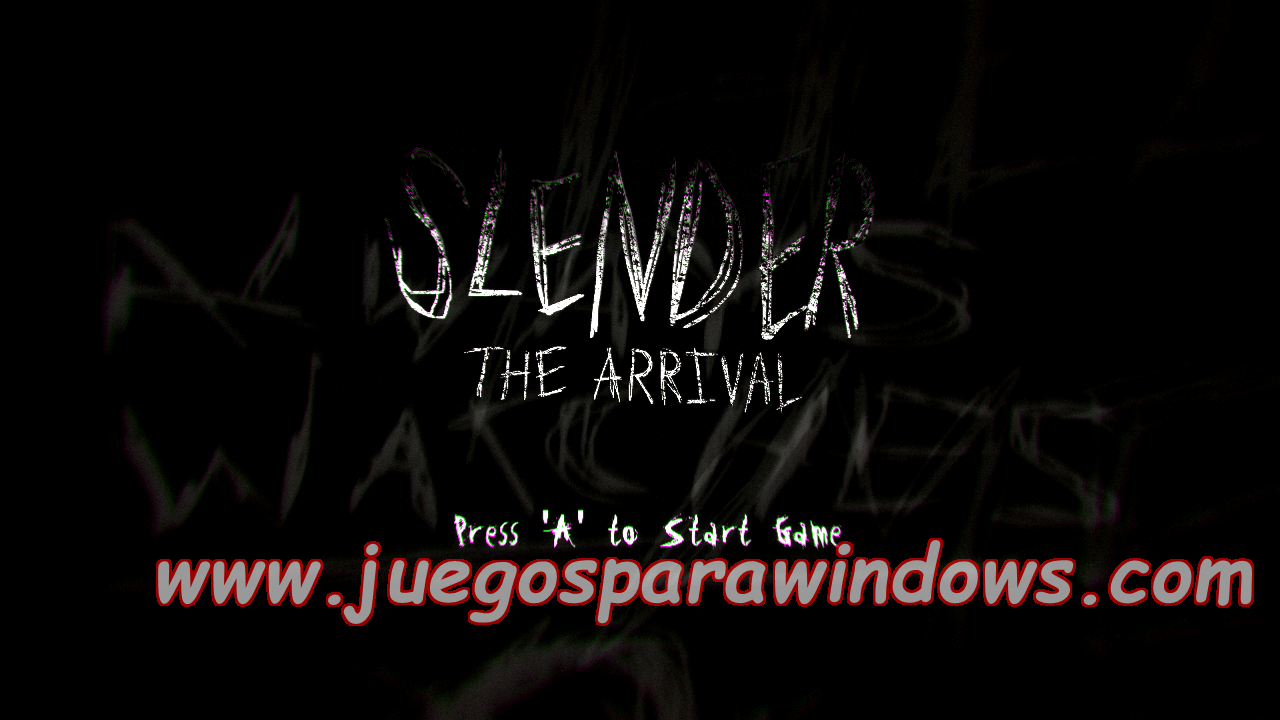 Slender The Arrival XBOX 360