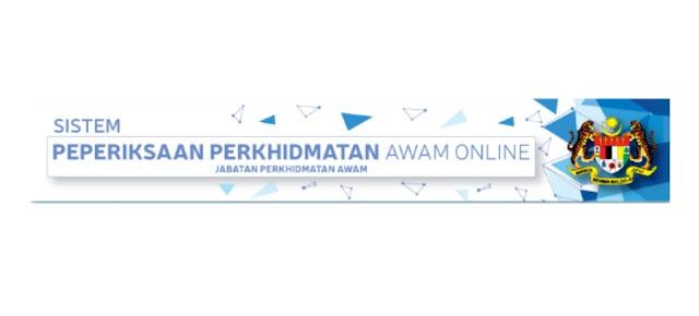 Permohonan Peperiksaan Perkhidmatan Awam 2020 Online