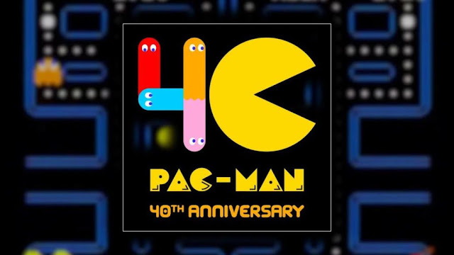 'PAC-MAN' TURNS 40 YEARS OLD!
