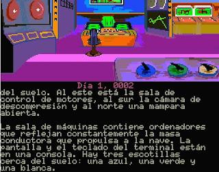 Aventura Conversacional Cita con Rama - MSX