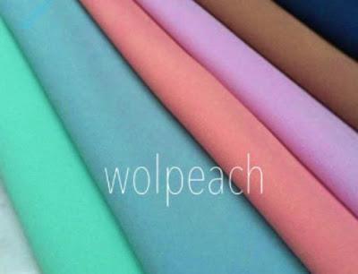 harga kain wolpeach