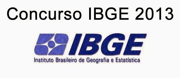 Concurso IBGE 2013 | Apostila Grátis