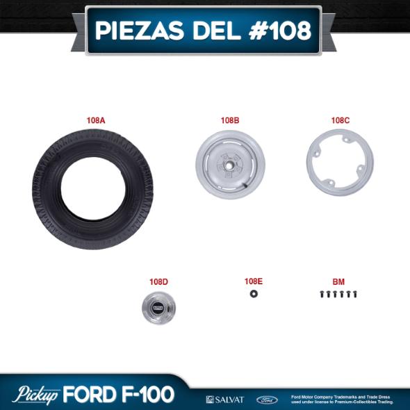 Entrega 108 Ford F-100