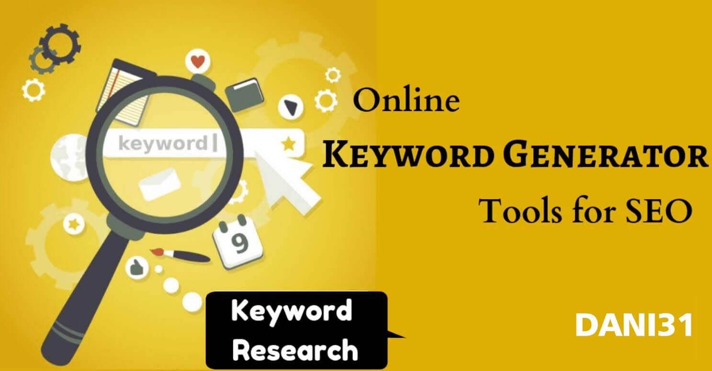 Keyword Generator Online Gratis Untuk SEO