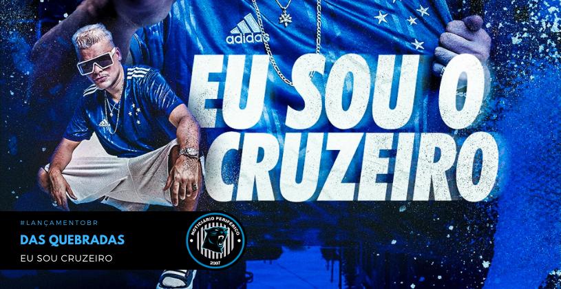 Cruzeiro lança o terceiro uniforme da adidas embalado pelo Rap do Das Quebradas