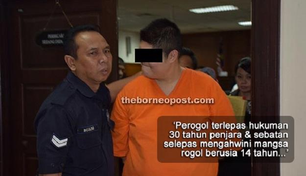 Perogol Terlepas Hukuman Penjara Selepas Kahwini Mangsa Rogol