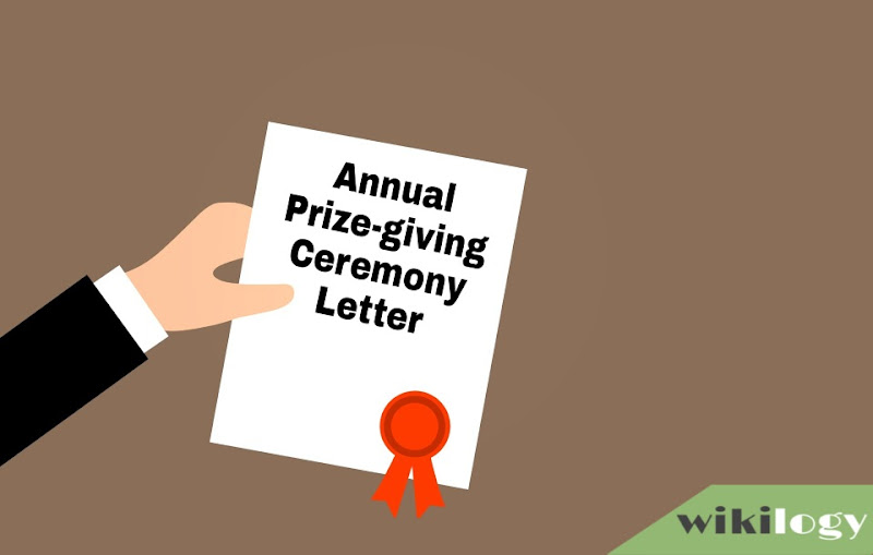 Write a letter describing the annual prize-giving ceremony