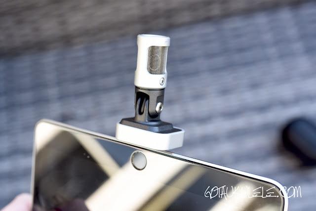 Shure MV88 Microphone - Got A Ukulele capsule