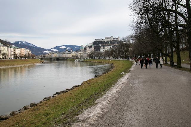 Kaipromenade (lungofiume)-Salisburgo
