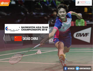 Pemain China di Badminton Asia Team Championship 2018