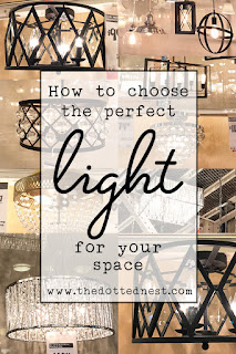 Tips for choosing the perfect light for your room.