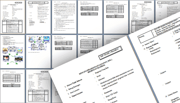 Contoh Format RPL Perangkat BK untuk SMP Kurikulum 2013