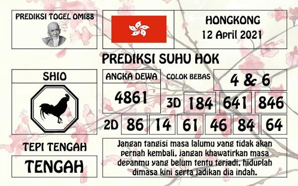 Syair HK 12 April 2021