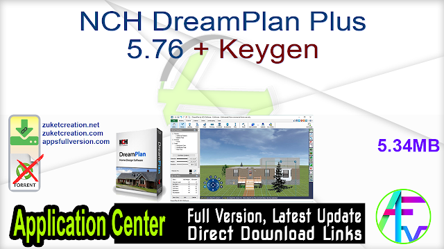 NCH DreamPlan Plus 5.76 + Keygen