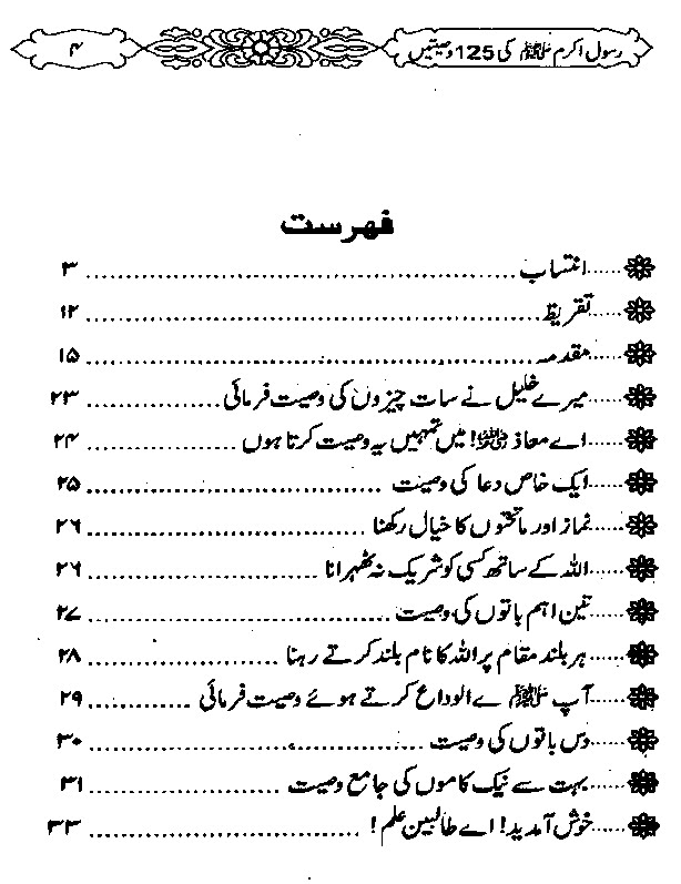 Hadis Nabi in Urdu