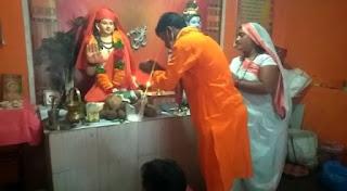 गुरु गोरखनाथ धाम पटपड़ा में सत्ता का कार्यक्रम आयोजित हुआ