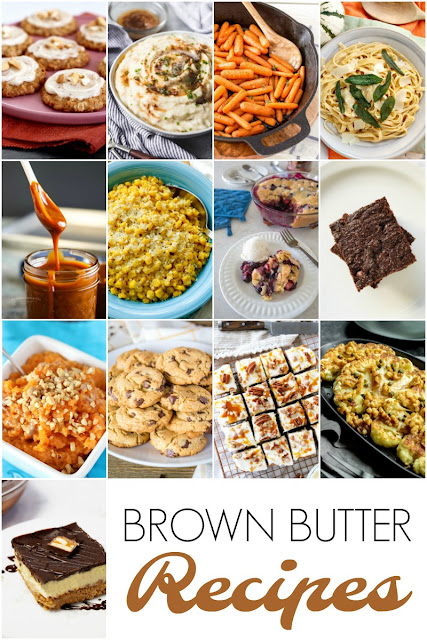 Love the richness & nuttiness of brown butter? Then be sure to try out this collection of 12 Brown Butter Recipes