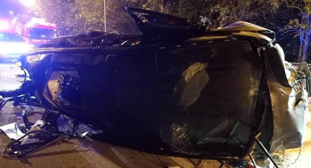 Syafiq Ahmad kemalangan