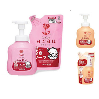sữa tắm Arau