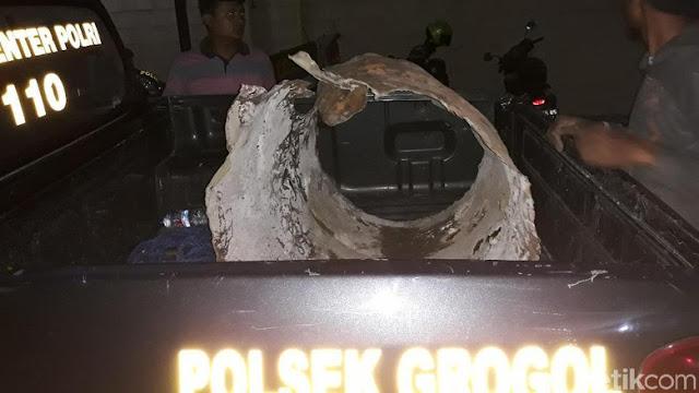 Mengerikan! Pemulung Temukan Mayat Dicor dalam Drum di Sukoharjo