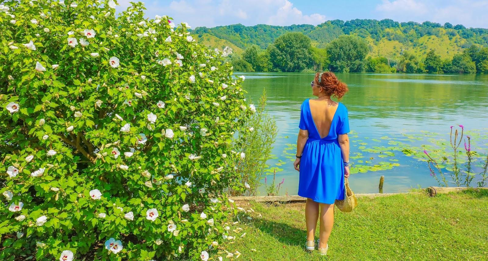 look-robe-dos-nu-bleu-cobalt