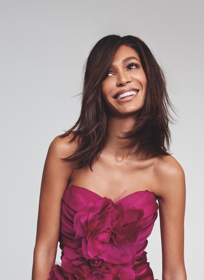 Victoria's Secret taps Joan Smalls for Bombshell Passion perfume campaign.
