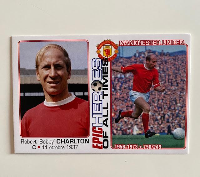 figurina Bobby Charlton Manchester United