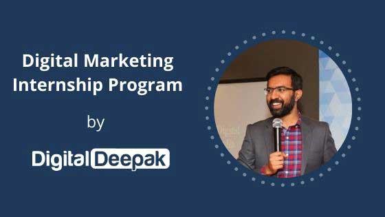 Internship And Learning from God Of Digital Marketing Digital Deepak