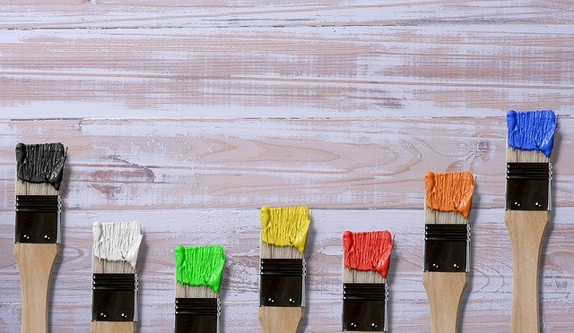 Types of painting brushes