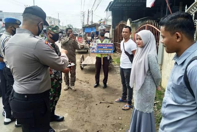 Polres Aceh Timur Bersama Kodim 0104, Satpol PP Gelar Operasi Yustisi, Ini Sanksi dan Titik Lokasinya