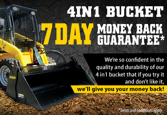 4 in 1 bucket - Digga Machinery Attachments