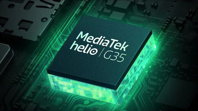 Realme C11 chipset mediatek helio g35