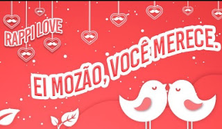 Promoção Rappi Dia dos Namorados 2020 Frete Grátis Acima 50 Reais - CUPOM