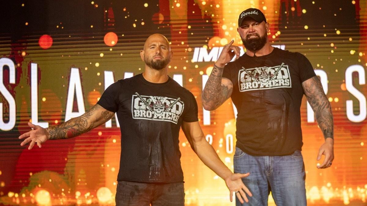 Good Brothers fazem aparição no AEW Dynamite