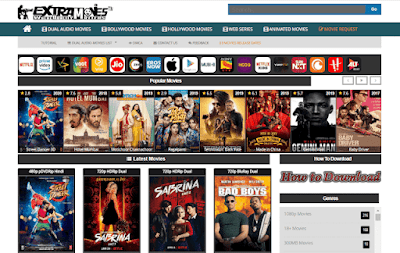 ExtraMovies.Casa Website - Extramovies 2020 Movies Download