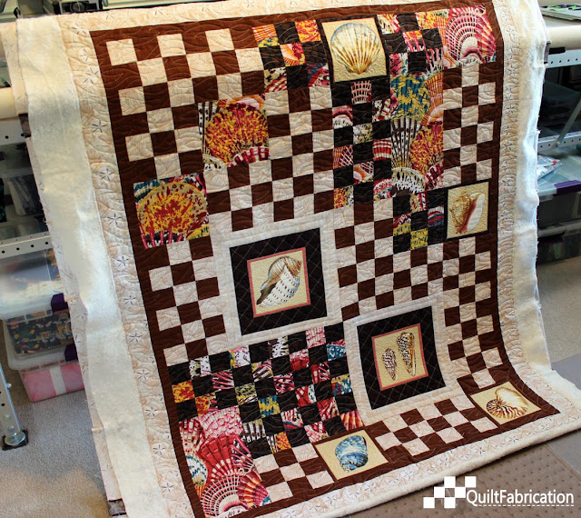 Sally Sells Seashells quilt