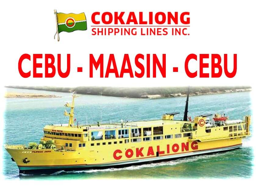 cokaliong cebu to maasin schedule