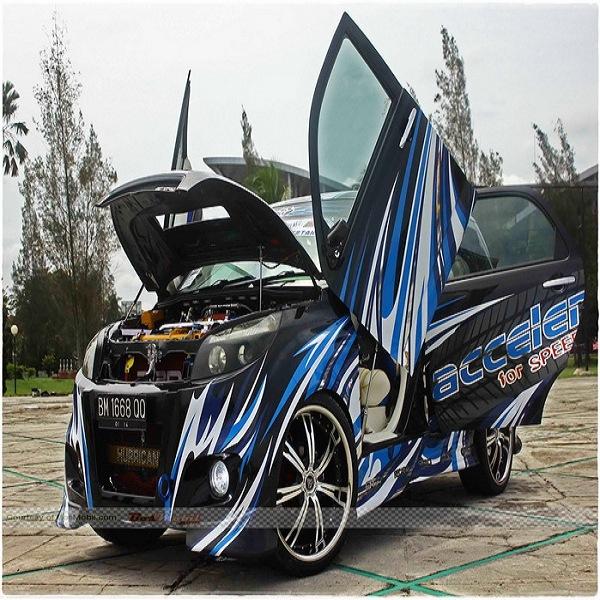 Modifikasi mobil avanza terbaru all new veloz ceper warna ...