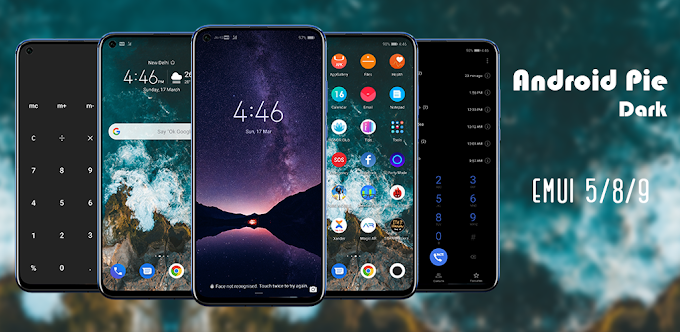 Renovate your Smartphone by Android Pie Dark Theme