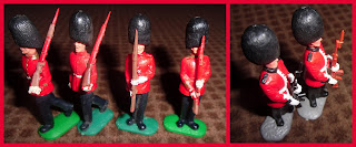54mm Figures; 54mm Swoppets; 54mm Toy Soldiers; Ceremonial Guards; Ceremonial Troops; Guards Division; Plastic Toy Soldiers; Polyethylene Toy Soldiers; Small Scale World; smallscaleworld.blogspot.com; Swoppet Guards; Swoppet Heads; Swoppets; Timpo Ceremonials; Timpo Guards; Timpo Toys;