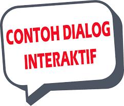 DIALOG INTERAKTIF: Pengertian Dan Contoh Dialog Interaktif Di TV