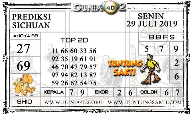 """Prediksi Togel """"SICHUAN"""" DUNIA4D2 29 JULI 2019"""