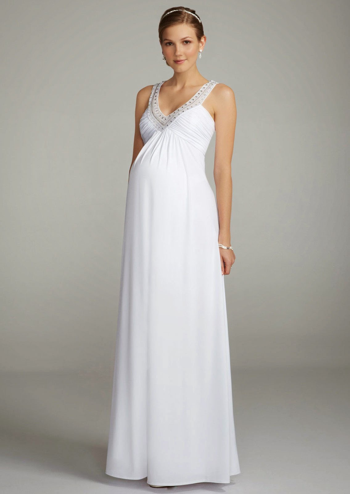 Cheap Affordable Maternity Wedding Dresses Ideas