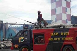 TNI-Polri Tangani Kasus Kebakaran di Kantor UPBU Kelas II Douw Aturure Nabire