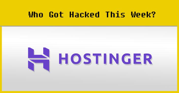 hostinger web hosting data breach