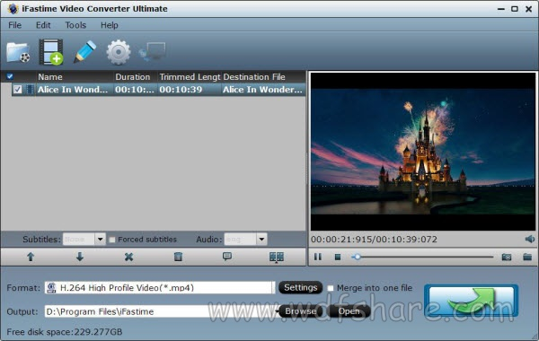 iFastime Video Converter Ultimate 4.8.6.6