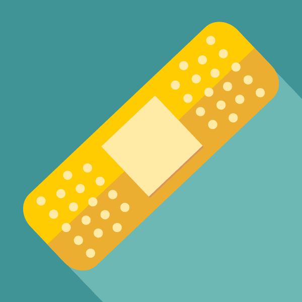 illustration of a bandage